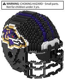 Forever Collectibles Baltimore Ravens BRXLZ 3D Helmet Puzzle