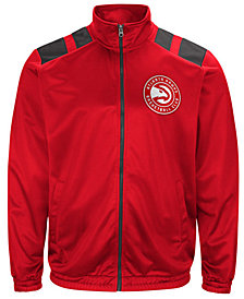 G-III Sports Men's Atlanta Hawks Broad Jump Track Jacket
