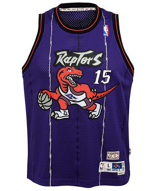 21a43e550 adidas Vince Carter Toronto Raptors Soul Swingman Jersey, Big Boys (8-20)  ...