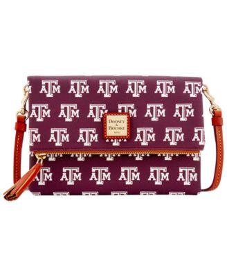 Texas A&M Aggies Foldover Crossbody Purse