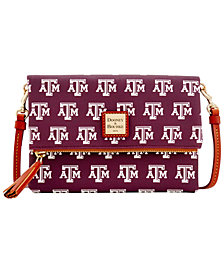 Dooney & Bourke Texas A&M Aggies Foldover Crossbody Purse