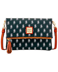 Dooney & Bourke Seattle Mariners Foldover Crossbody Purse