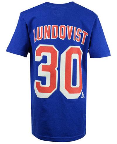 Outerstuff Henrik Lundqvist New York Rangers Player T-Shirt, Big Boys (8-20)