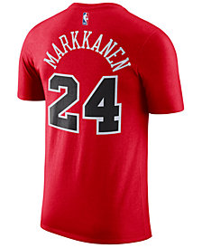 Nike Men's Lauri Markkanen Chicago Bulls Name & Number Player T-Shirt
