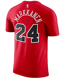 Nike Men's Lauri Markkanen Chicago Bulls Name & Number Player T-Shirt