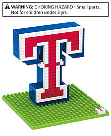 Forever Collectibles Texas Rangers BRXLZ 3D Logo Puzzle