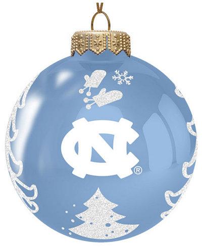 memory company north carolina tar heels glass christmas tree ornament - Glass Christmas Tree
