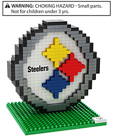 Forever Collectibles Pittsburgh Steelers BRXLZ 3D Logo Puzzle