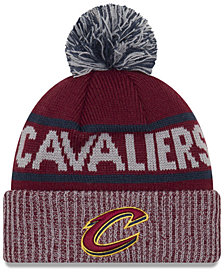 New Era Cleveland Cavaliers Court Force Pom Knit Hat