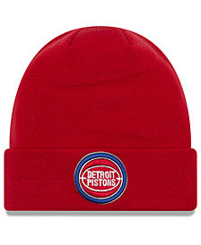 New Era Detroit Pistons Breakaway Knit Hat