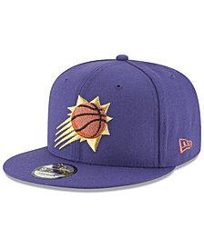 New Era Phoenix Suns Team Metallic 9FIFTY Snapback Cap