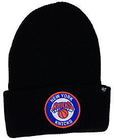 '47 Brand New York Knicks Ice Block Cuff Knit Hat