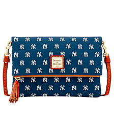 Dooney & Bourke New York Yankees Foldover Crossbody Purse