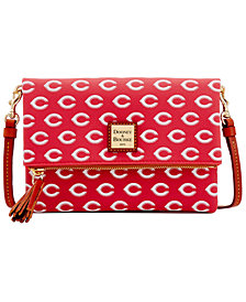 Dooney & Bourke Cincinnati Reds Foldover Crossbody Purse