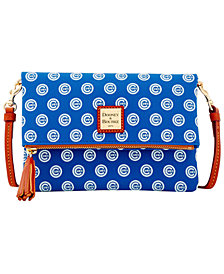 Dooney & Bourke Chicago Cubs Foldover Crossbody Purse