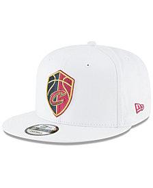 New Era Cleveland Cavaliers Team Metallic 9FIFTY Snapback Cap