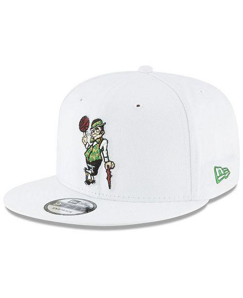 664b68d3ecc ... New Era Boston Celtics Team Metallic 9FIFTY Snapback Cap ...