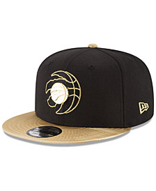 New Era Toronto Raptors Triple Gold 9FIFTY Snapback Cap
