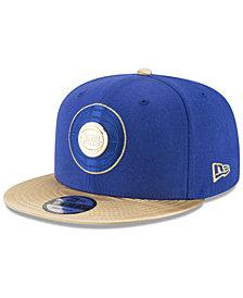New Era Detroit Pistons Triple Gold 9FIFTY Snapback Cap