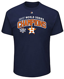 Majestic Men's Houston Astros 2017 World Series Champ Roster of Jerseys T-Shirt