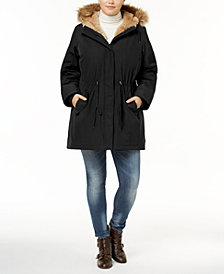 Levi's® Plus Size Faux-Fur Trimmed Parka