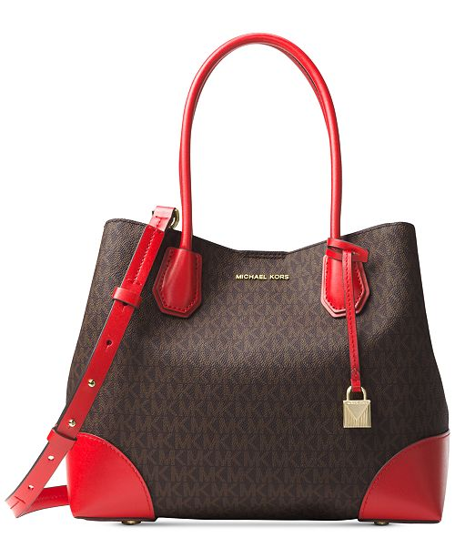 Michael Kors Signature Medium Mercer Gallery   Reviews ... 88793451a284b