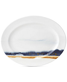 Lenox Watercolor Horizons Platter, Created for Macy's