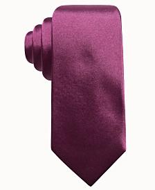 Ryan Seacrest Distinction™ Men's Solid Silk Tie, Created for Macy's