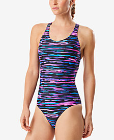 Speedo Endurance Lite High-Support One-Piece Swimsuit
