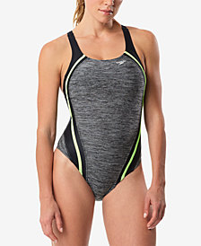 Speedo Quantum Splice One-Piece Swimsuit