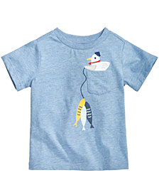 First Impressions Cotton T-Shirt, Baby Boys, Created for Macy's