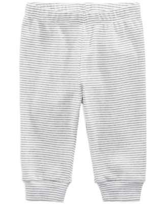 Striped Cotton Jogger Pants, Baby Boys, Created for Macy's