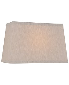 "Lite Source 14"" Fabric Rectangular Lamp Shade"