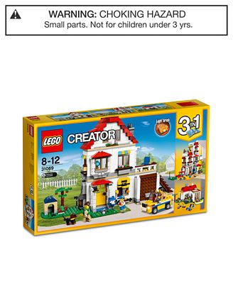 LEGO® 728-Pc. Creator Modular Family Villa Set - Toys & Games ...