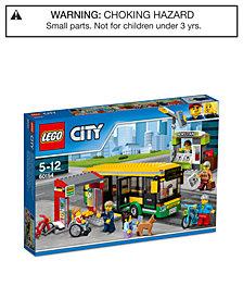 LEGO® City 337-Pc. Town Bus Station Set 60154