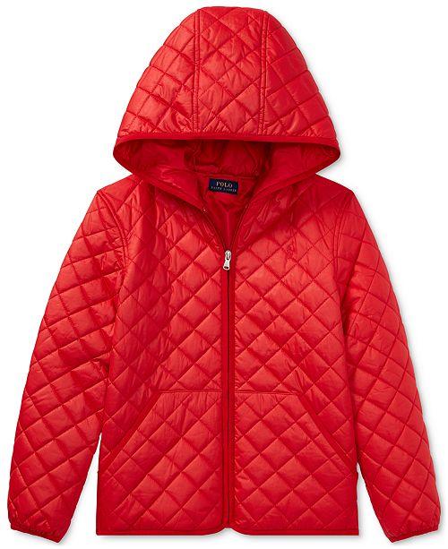f1fab6b1 Polo Ralph Lauren Ralph Lauren Quilted Jacket, Big Girls & Reviews ...
