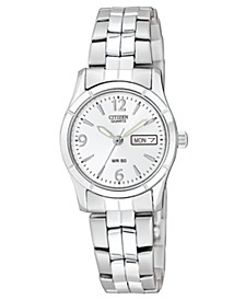 Women's Stainless Steel Bracelet Watch 25mm EQ0540-57A