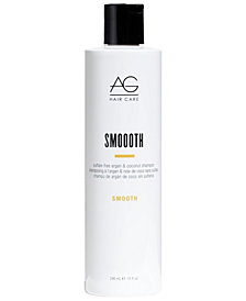 AG Hair Smooth Sulfate-Free Argan & Coconut Shampoo, 10-oz., from PUREBEAUTY Salon & Spa