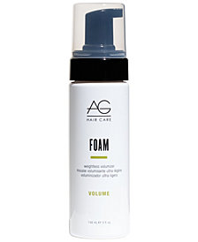 AG Hair Foam Weightless Volumizer, 12-oz., from PUREBEAUTY Salon & Spa