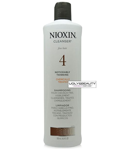 Nioxin System 4 Cleanser, 500 ml, from PUREBEAUTY Salon & Spa