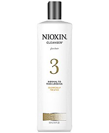 Nioxin System 3 Cleanser, 16.9-oz., from PUREBEAUTY Salon & Spa