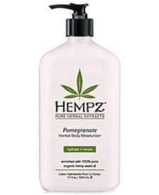 Pomegranate Herbal Body Moisturizer, 17-oz., from PUREBEAUTY Salon & Spa