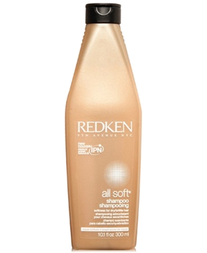 Image of Redken All Soft Shampoo, 10.1-oz, from Purebeauty Salon & Spa