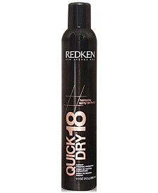 Redken Quick Dry 18 Instant Finishing Hairspray, 11-oz., from PUREBEAUTY Salon & Spa