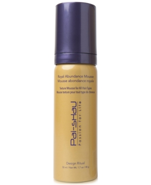 Image of Pai Shau Royal Abundance Mousse, 1.7-oz, from Purebeauty Salon & Spa