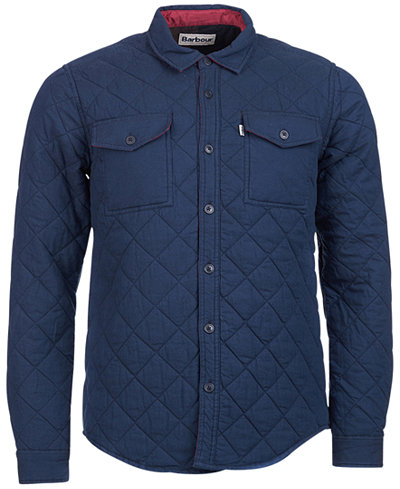 Barbour Men's Quilted Overshirt Jacket