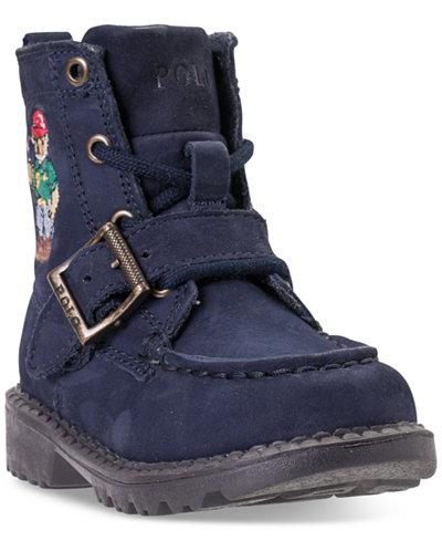 Polo Ralph Lauren Toddler Boys\' Ranger High II Bear Boots from ...