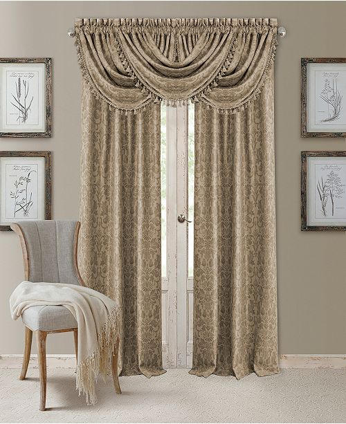 Elrene Antonia Blackout Window Panel and Valance Collection