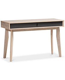 Fella 2-Drawer Desk, Quick Ship