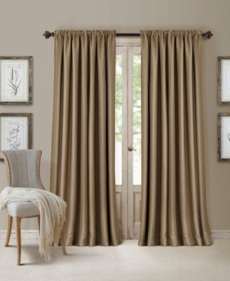 All Seasons Blackout Rod Pocket/Back Tab 52'' x 84'' Curtain Panel